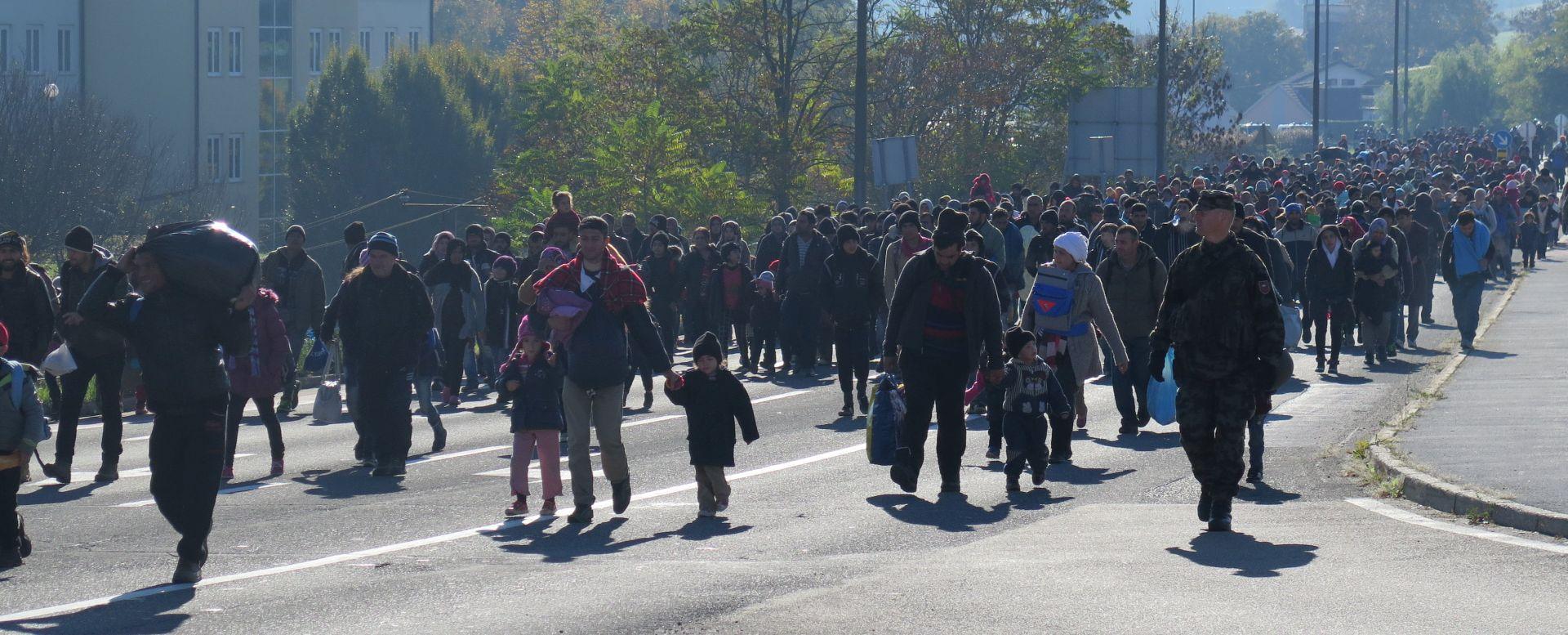 I DALJE PRISTIŽU: Noćas u Hrvatsku ušlo oko 2400 migranata