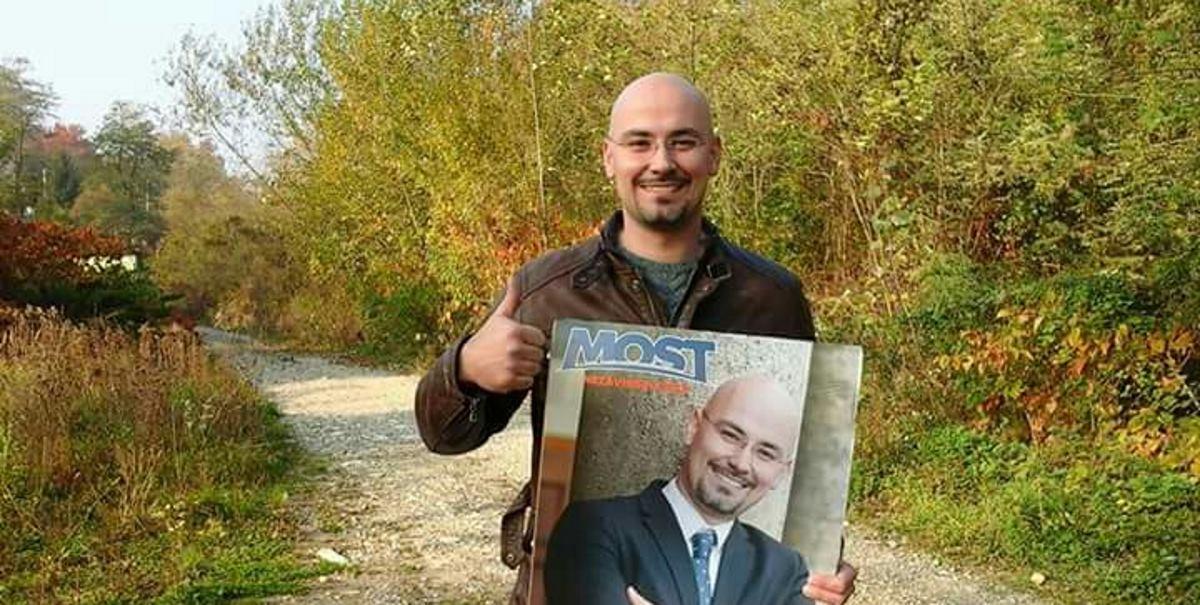 EKSKLUZIVNO/FOTO: Kandidat MOST-a tvrdi da ga je HDZ-ovac prvi napao s leđa, a da se on samo branio