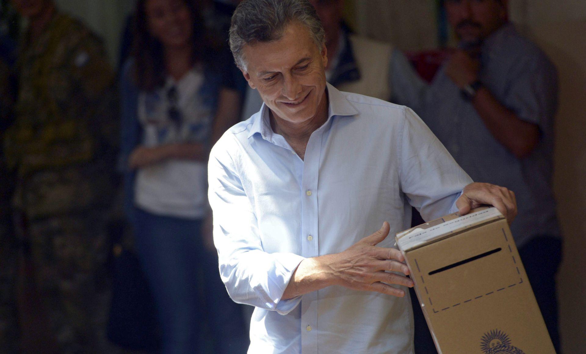 NOVI ARGENTINSKI PREDSJEDNIK: Mauricio Macri u drugom krugu pobijedio Daniela Scioli-a