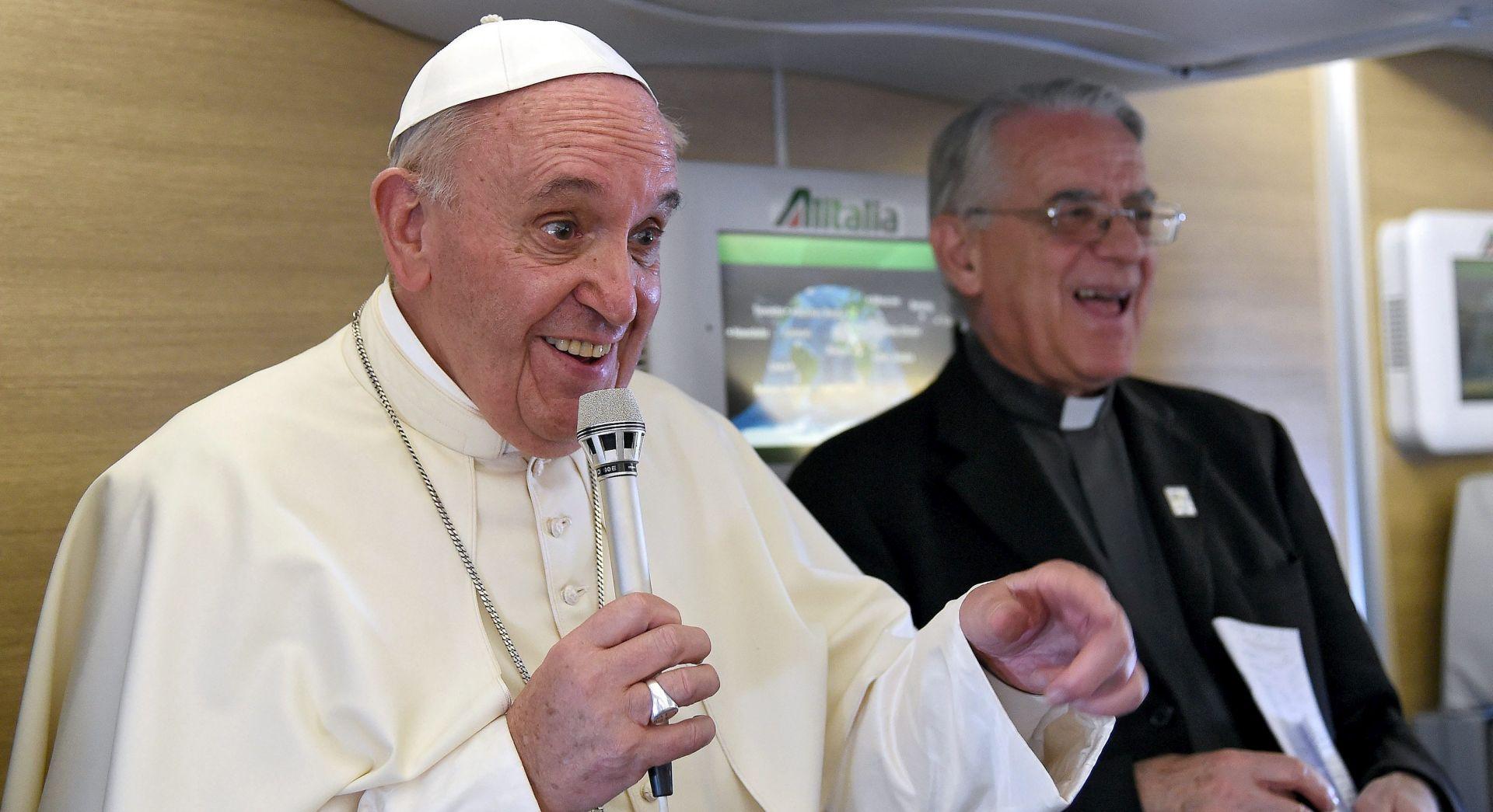 TREBA DJELOVATI: Papa kaže da je vrijeme za dogovor o klimatskom zatopljenju sada ili nikada