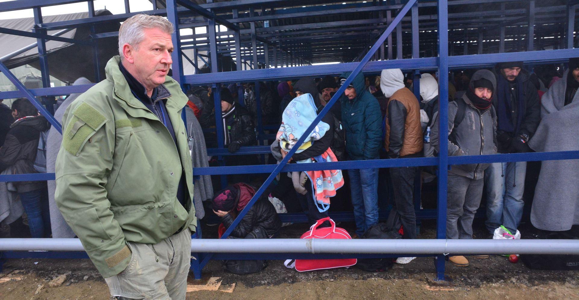 Ostojić: Zimski tranzitni centar u Slavonskom Brodu može primiti povećani dolazak izbjeglica