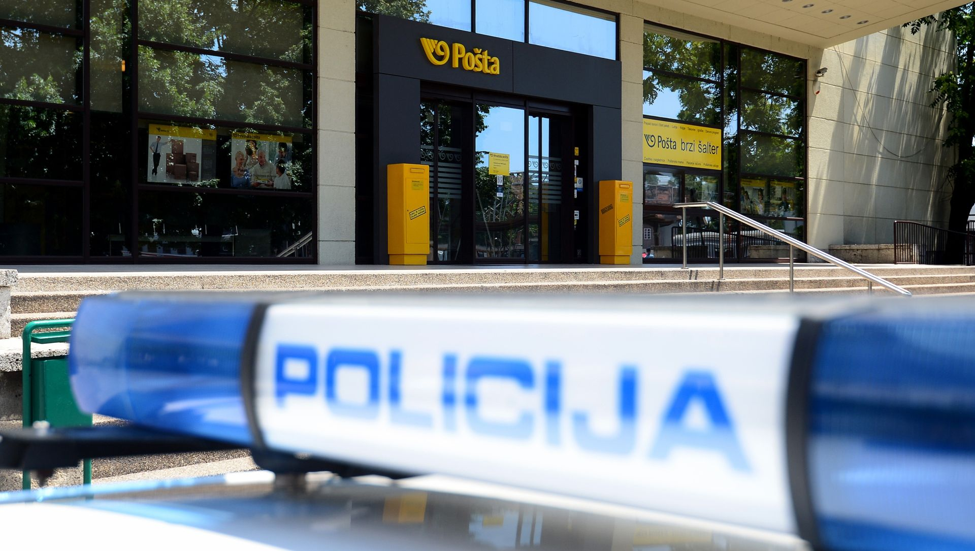 POLICIJA TRAGA ZA POČINITELJIMA Opljačkana pošta u zagrebačkom Prečkom