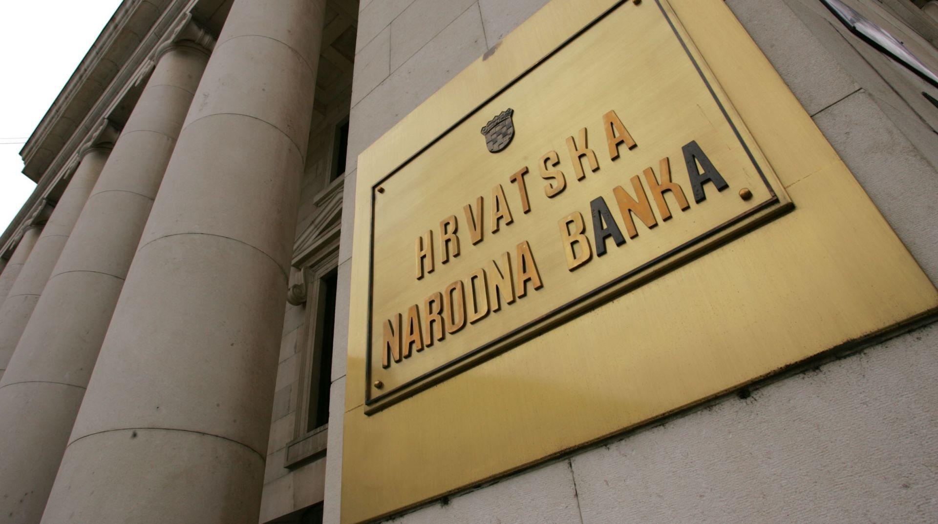 HNB: Prvom strukturnom obratnom repo aukcijom plasirano 565 milijuna kuna