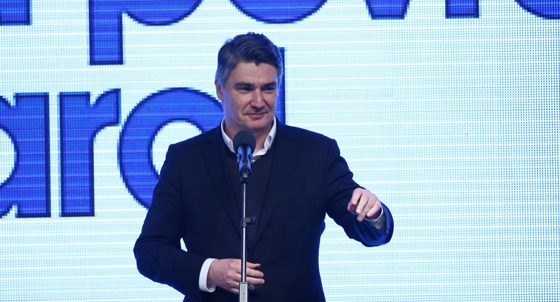 Zoran Milanović Photo: Zeljko Lukunic/PIXSELL
