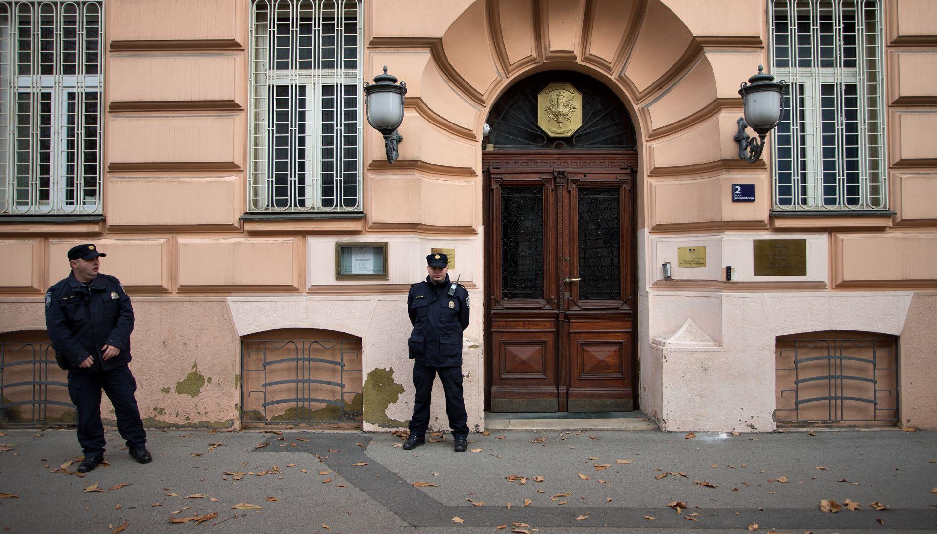 Zagreb: Nakratko bilo blokirano područje oko francuskog Veleposlanstva