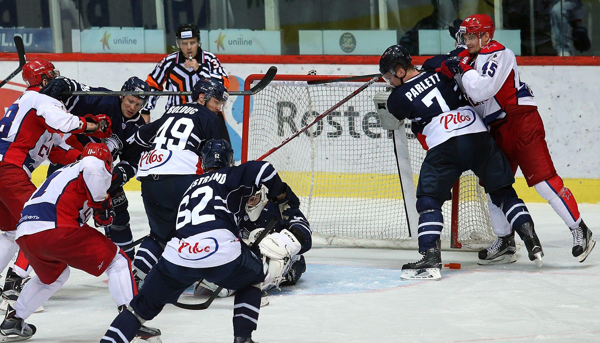 KHL Medveščak u Domu Sportova minimalno slavio protiv vodećeg CSKA Iz Moskve