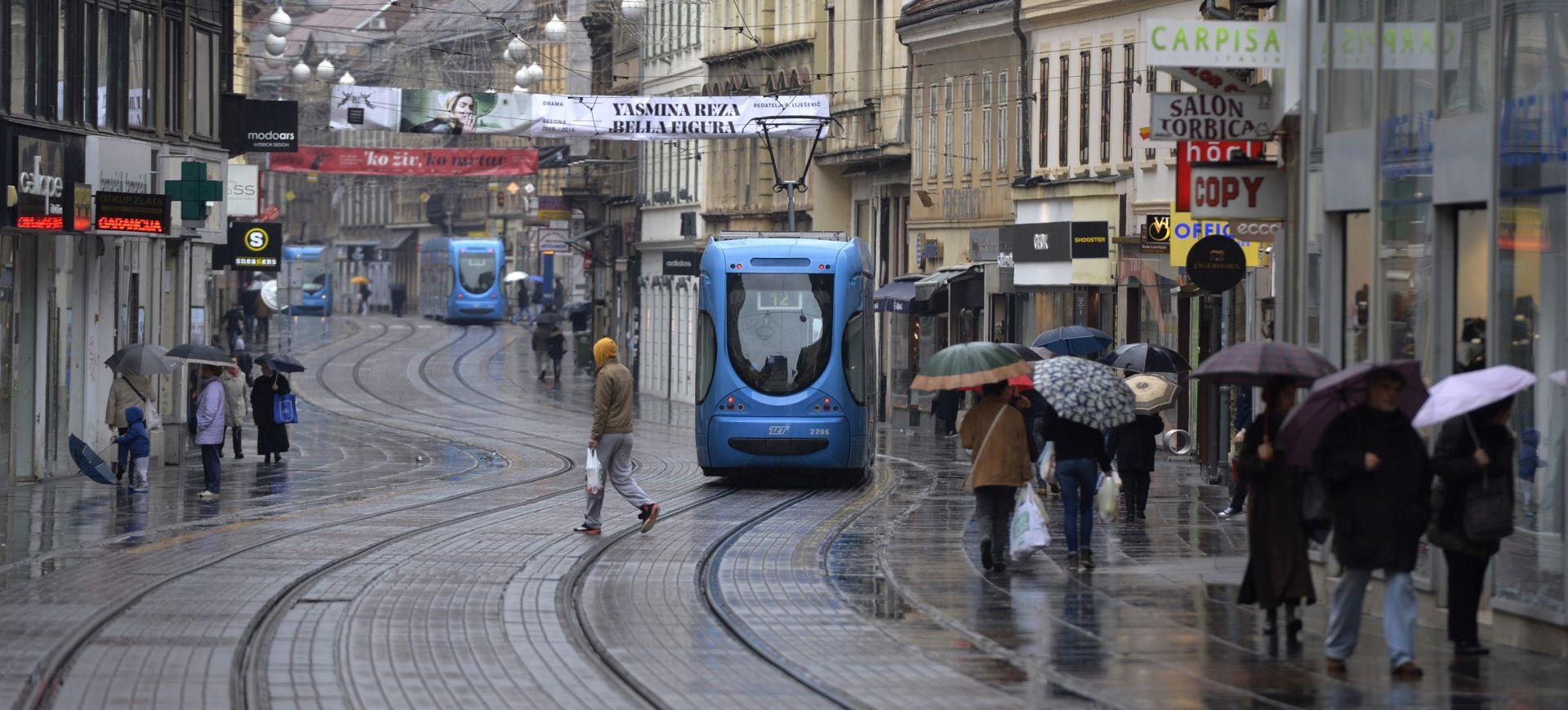 POVREMENA KIŠA, U GORJU SNIJEG U Dalmaciji mogući pljuskovi s grmljavinom