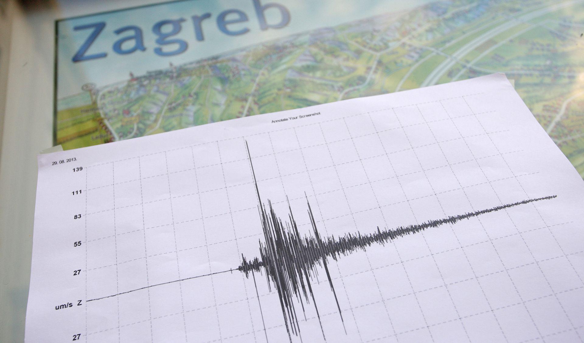 DVIJE MINUTE DO PONOĆI Na Sljemenu zabilježen slab potres