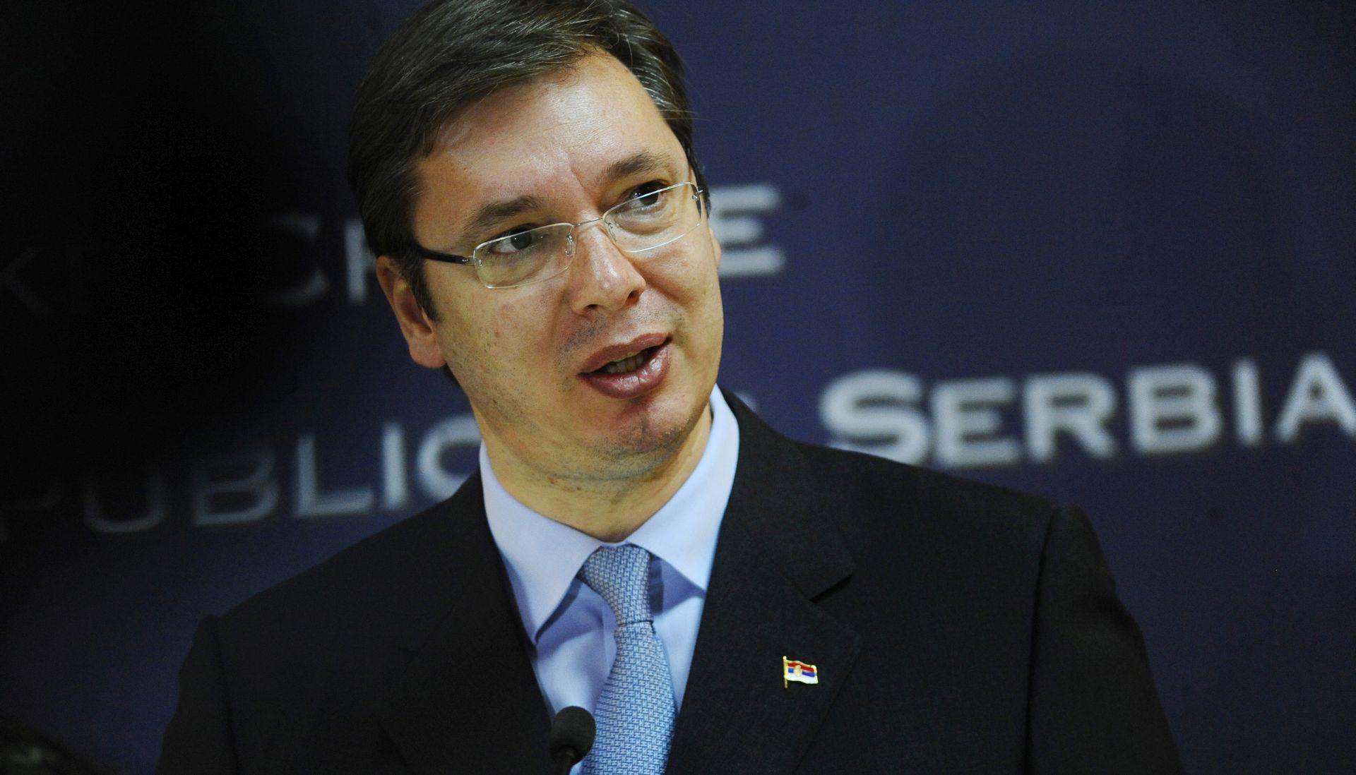 Vučić: Odustane li Hrvatska od naoružavanja, odustat će i Srbija