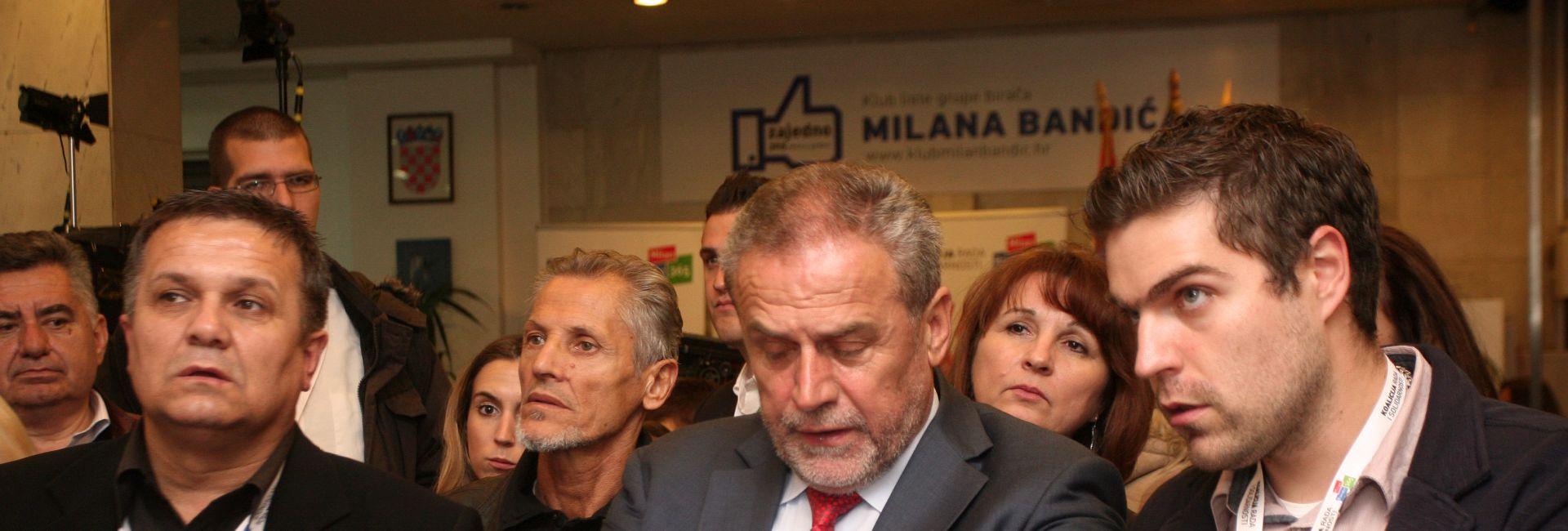 Bandić: Još me nitko nije kontaktirao oko koalicije i Vlade