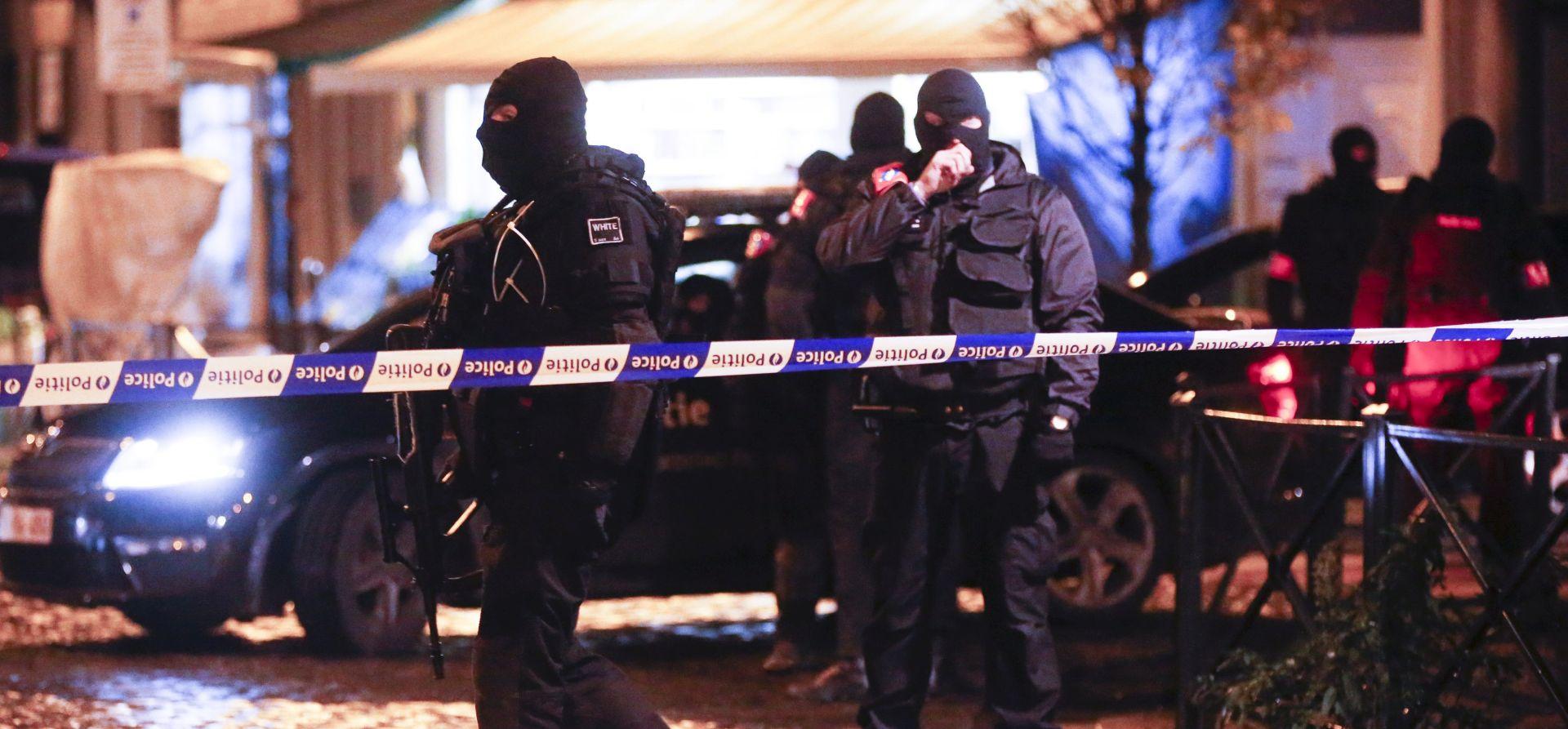 NA ULICAMA POLICIJA I VOJSKA: Policijska operacija u središtu Bruxellesa