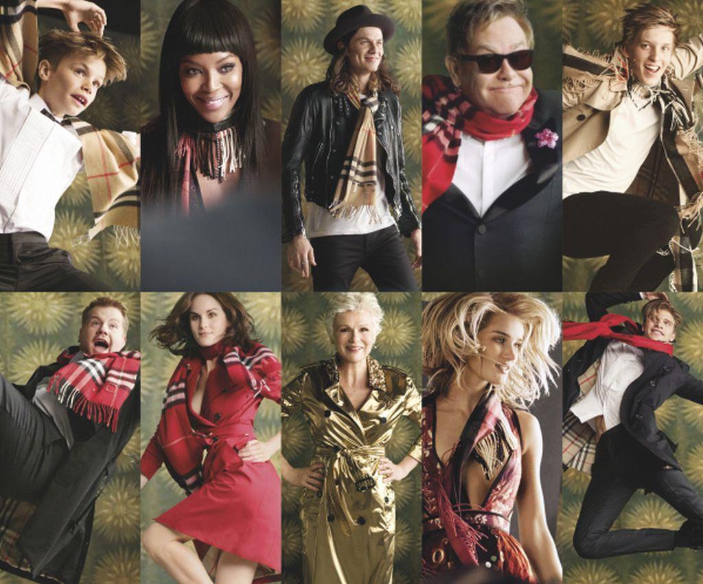 FOTO: Britanska elita u novoj Burberry božićnoj kampanji