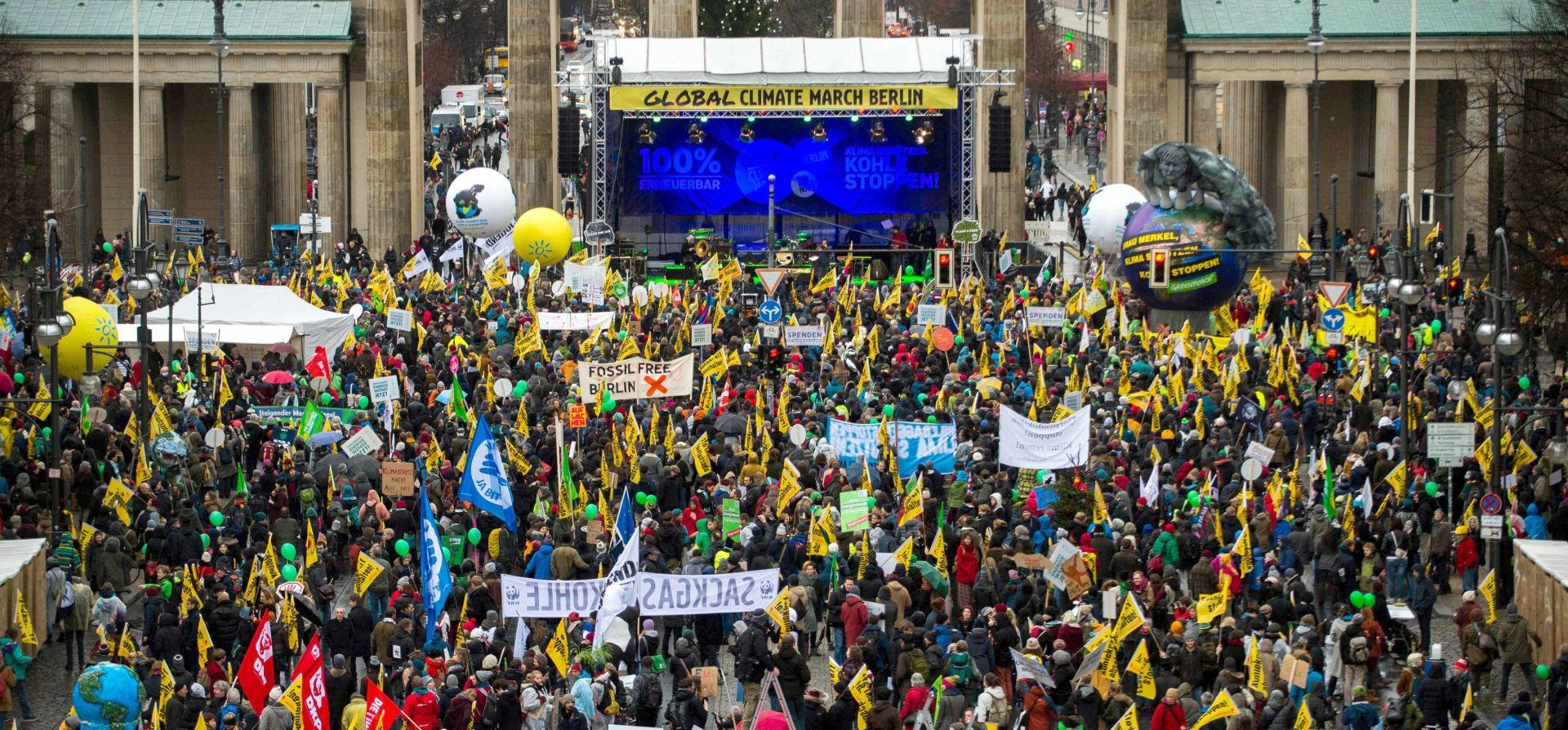 FOTO Stotine tisuća ljudi diljem svijeta traže akciju protiv globalnog zagrijavanja