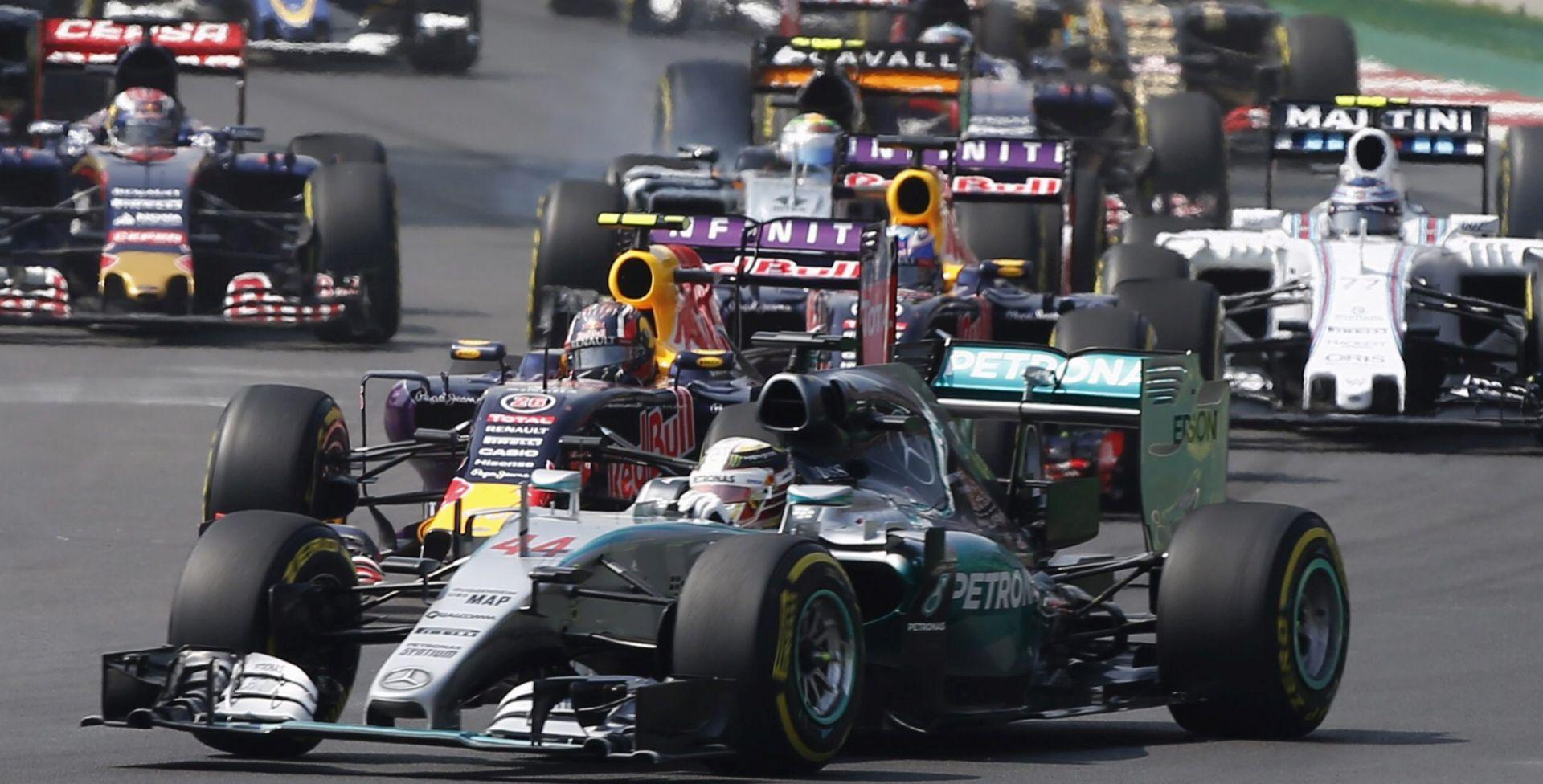 F1: Rosberg slavio u Meksiku