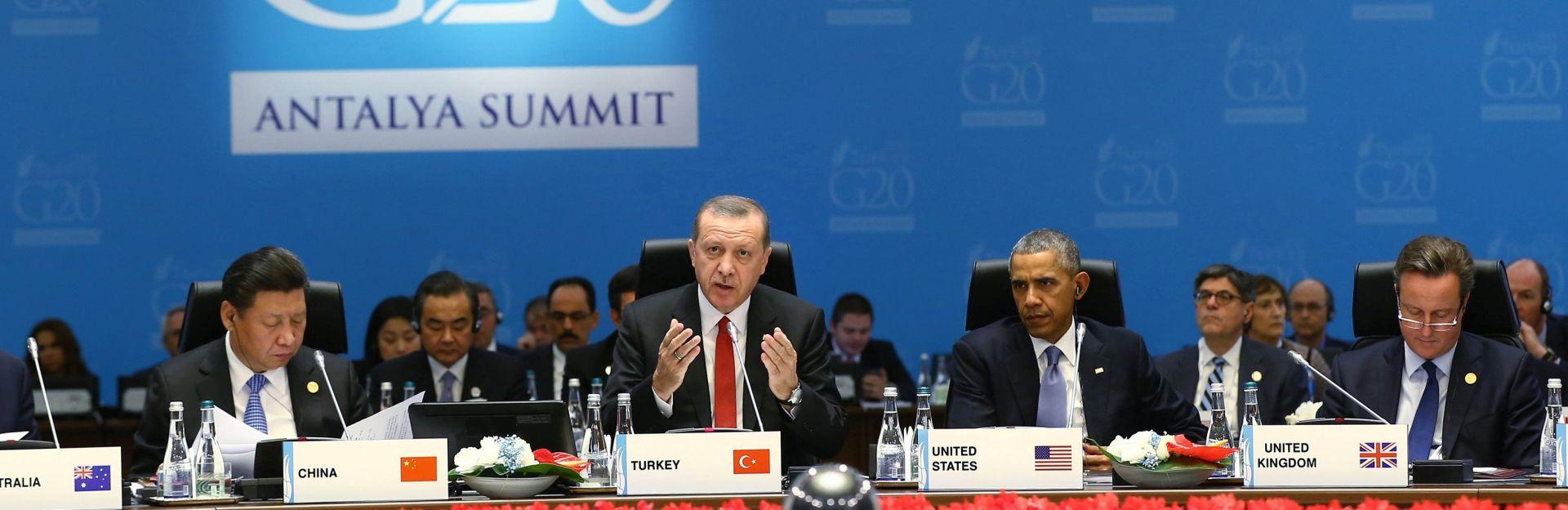 SKUP SVJETSKIH VOĐA: G20 traži rješenja za terorizam i klimatske promjene