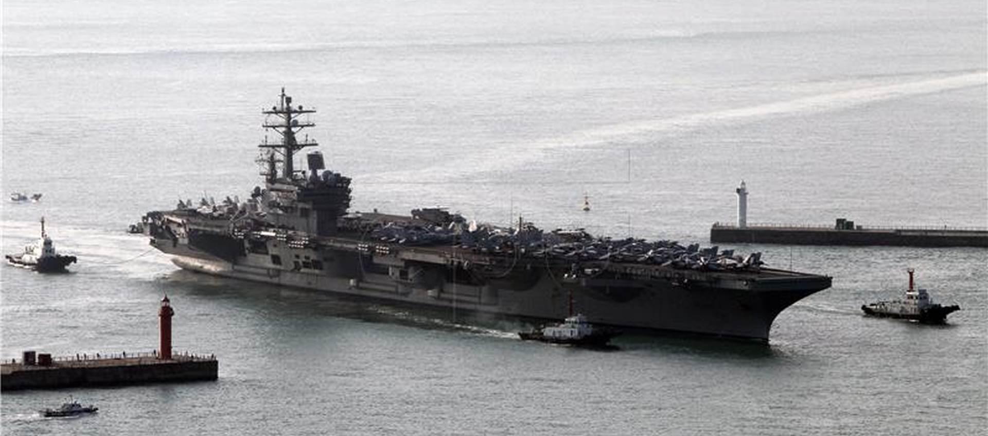 VLADA ODOBRILA: Američki nosač zrakoplova USS Harry S. Truman stiže u Split
