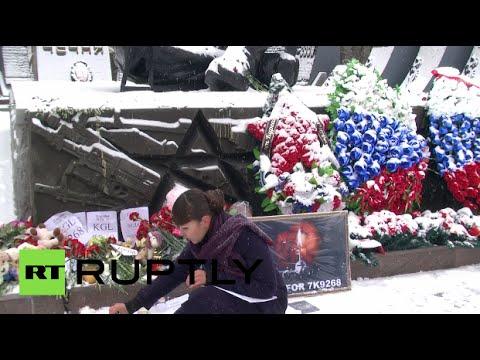 VIDEO: Ljudi diljem svijeta odaju počast žrtvama leta Kolavia 7K9268