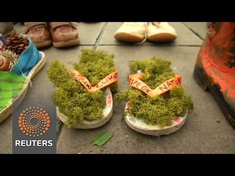VIDEO: Cipele nose poruku svjetskim državnicima