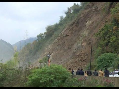 VIDEO: Veliki odron na autocesti u sjeverozapadnoj Kini