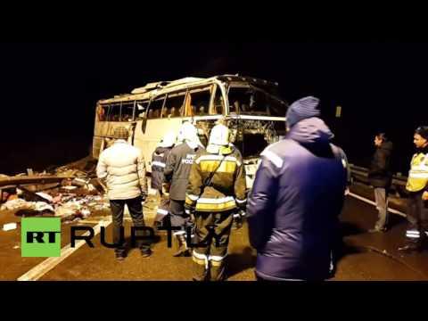 SMRT NA CESTI: U autobusnoj nesreći u Rusiji sedam mrtvih