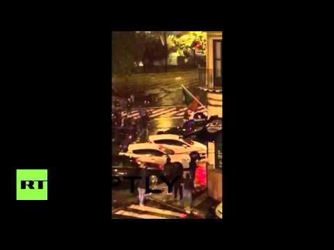 Navijački neredi diljem Europe, sukobi u Sevilli, Lavovu i Ateni