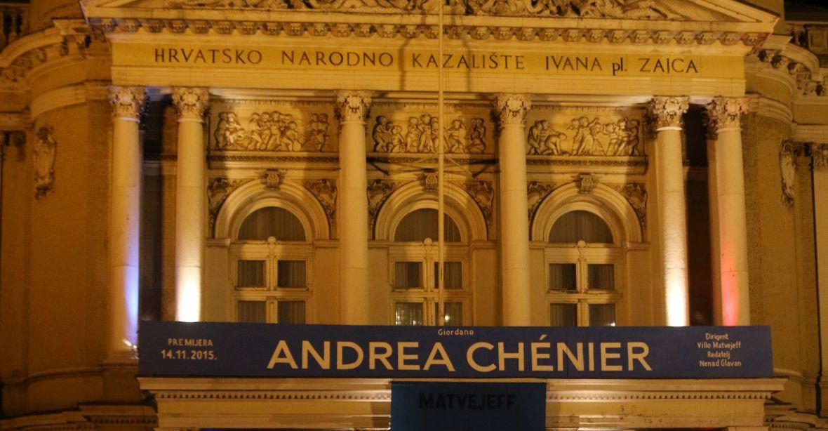 """Izvedba opere """"ANDREA CHÉNIER"""" posvećena žrtvama u Parizu"""