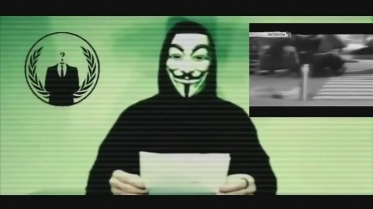 VIDEO: Službena objava francuskih 'Anonymousa'