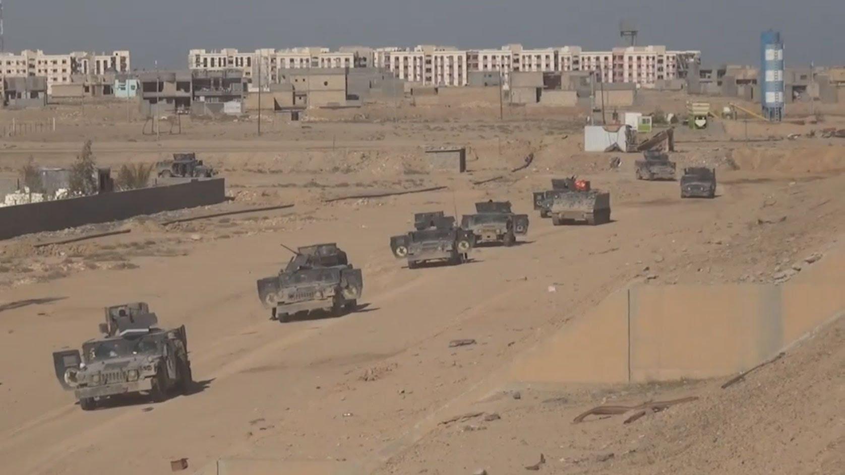VIDEO: Iračke snage prekinule opskrbu uporišta IS-a Ramadija