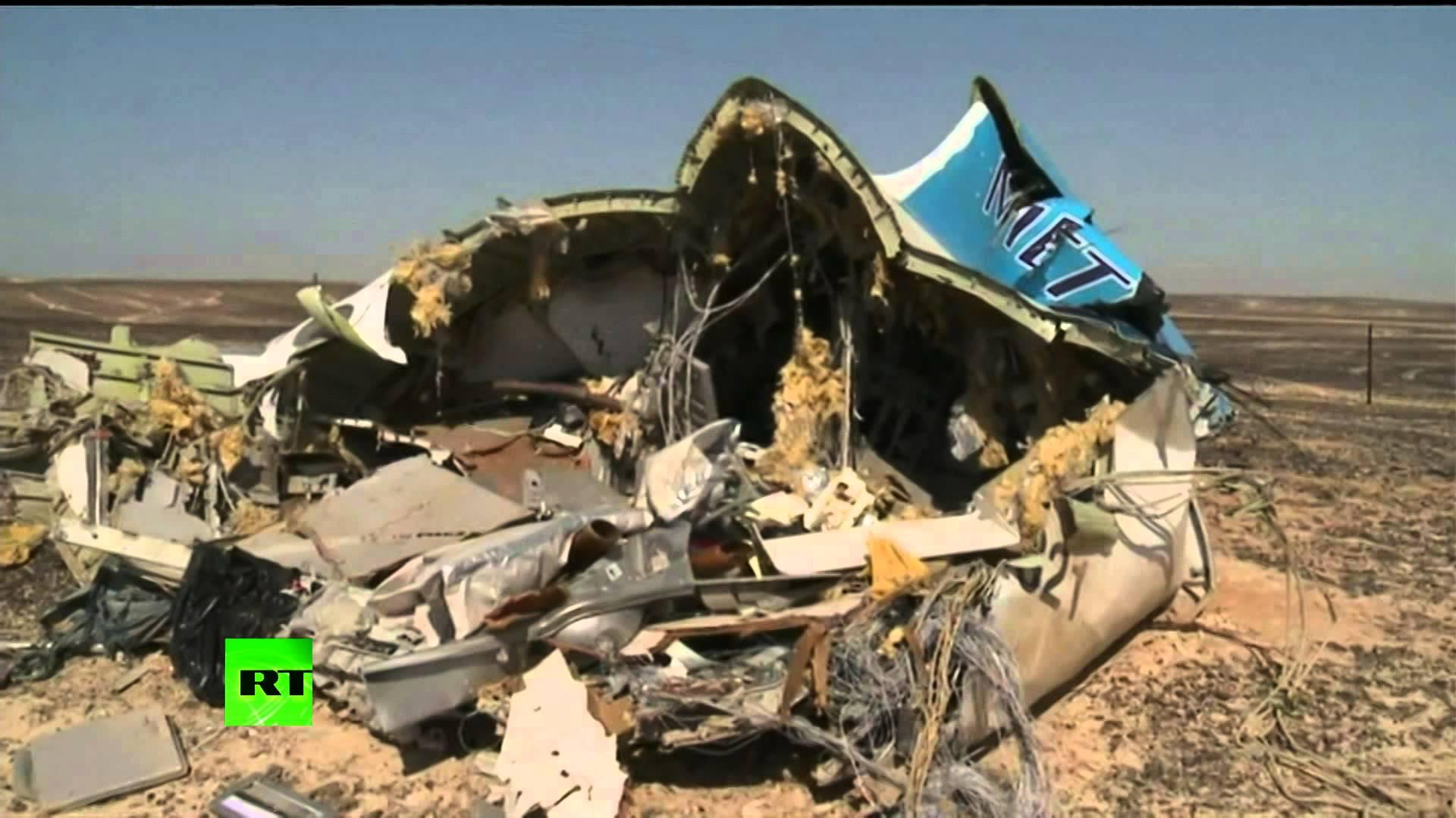 VIDEO: Rusi objavili snimke mjesta tragedije na Sinaju