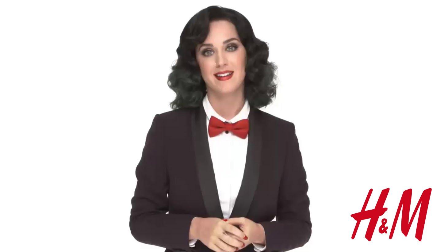 VIDEO: NOVO LUDILO U H&M-U Katy Perry središnje mjesto u božićnoj kolekciji