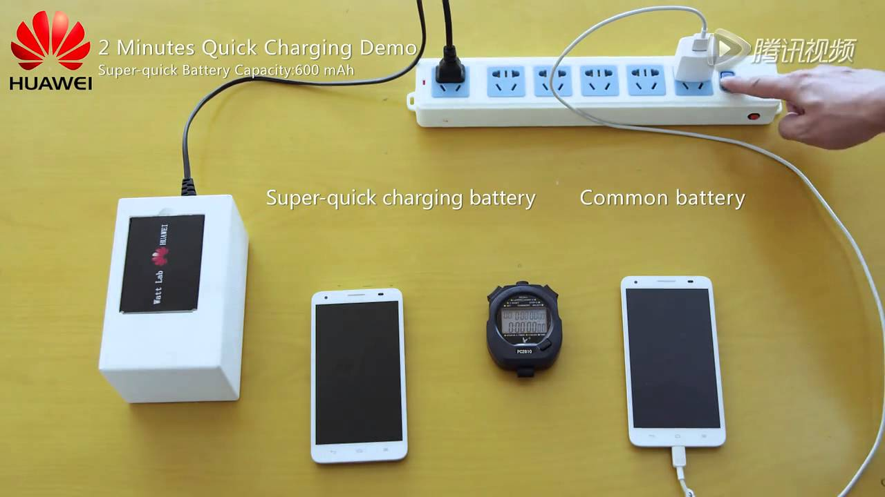 VIDEO: Huawei predstavio prototipe novih baterija – napune se za samo nekoliko minuta