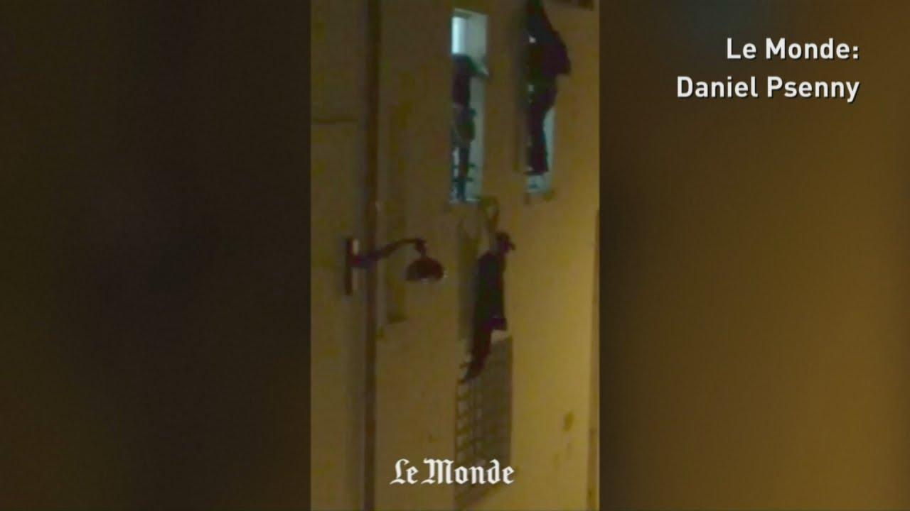 VIDEO: Nova snimka bijega iz pariškog Bataclan Theatrea