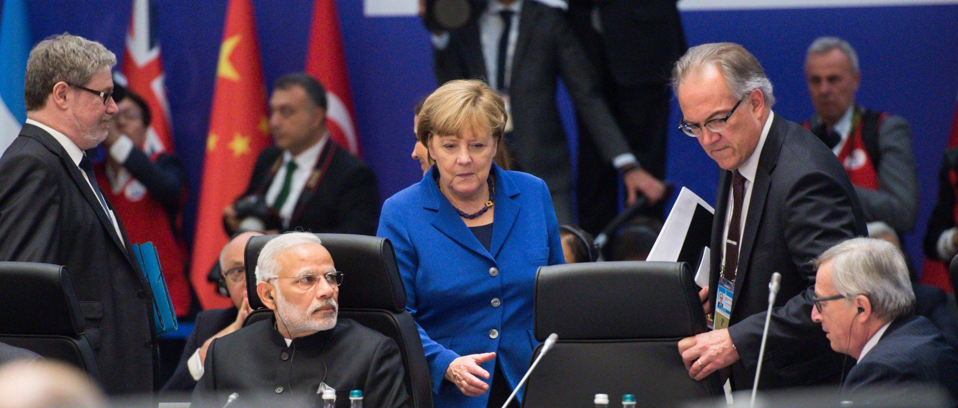 SUMMIT G2O: Angela Merkel predlaže pravednu raspodjelu migranata