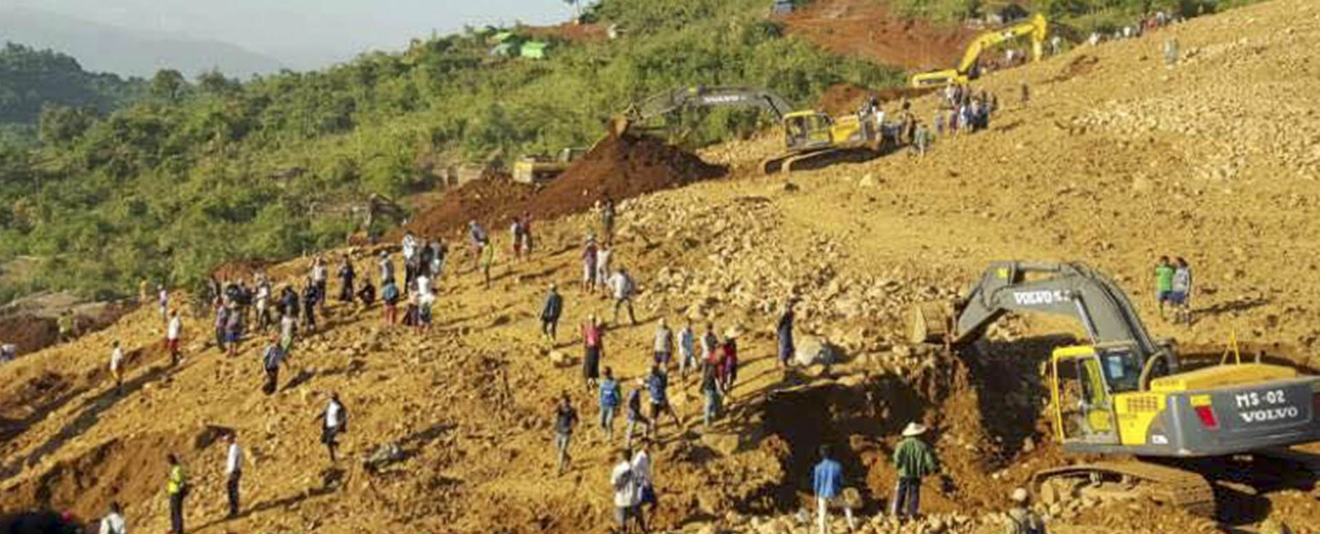 NESREĆA U RUDNIKU: U klizanju terena u Mianmaru više od 100 mrtvih