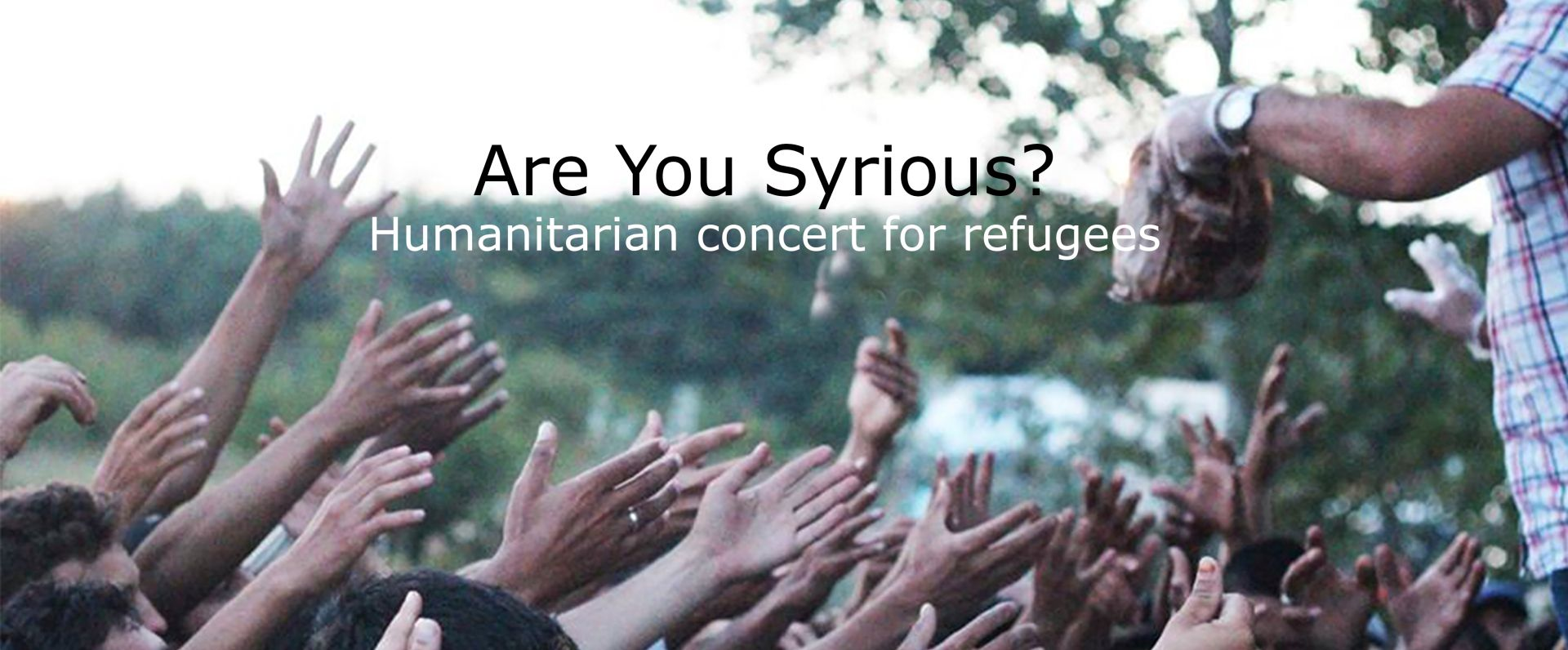 ARE YOU SYRIOUS Cubismo na humanitarnom koncertu u Vintage Industrial Baru
