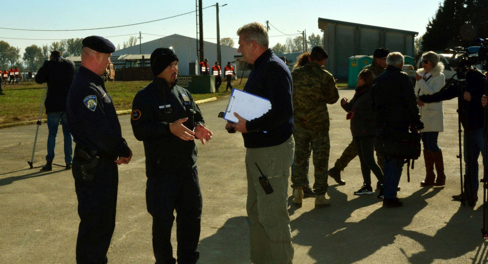 IZBJEGLICE Ostojić: Prvi migranti u centar u Slavonski Brod stižu u utorak