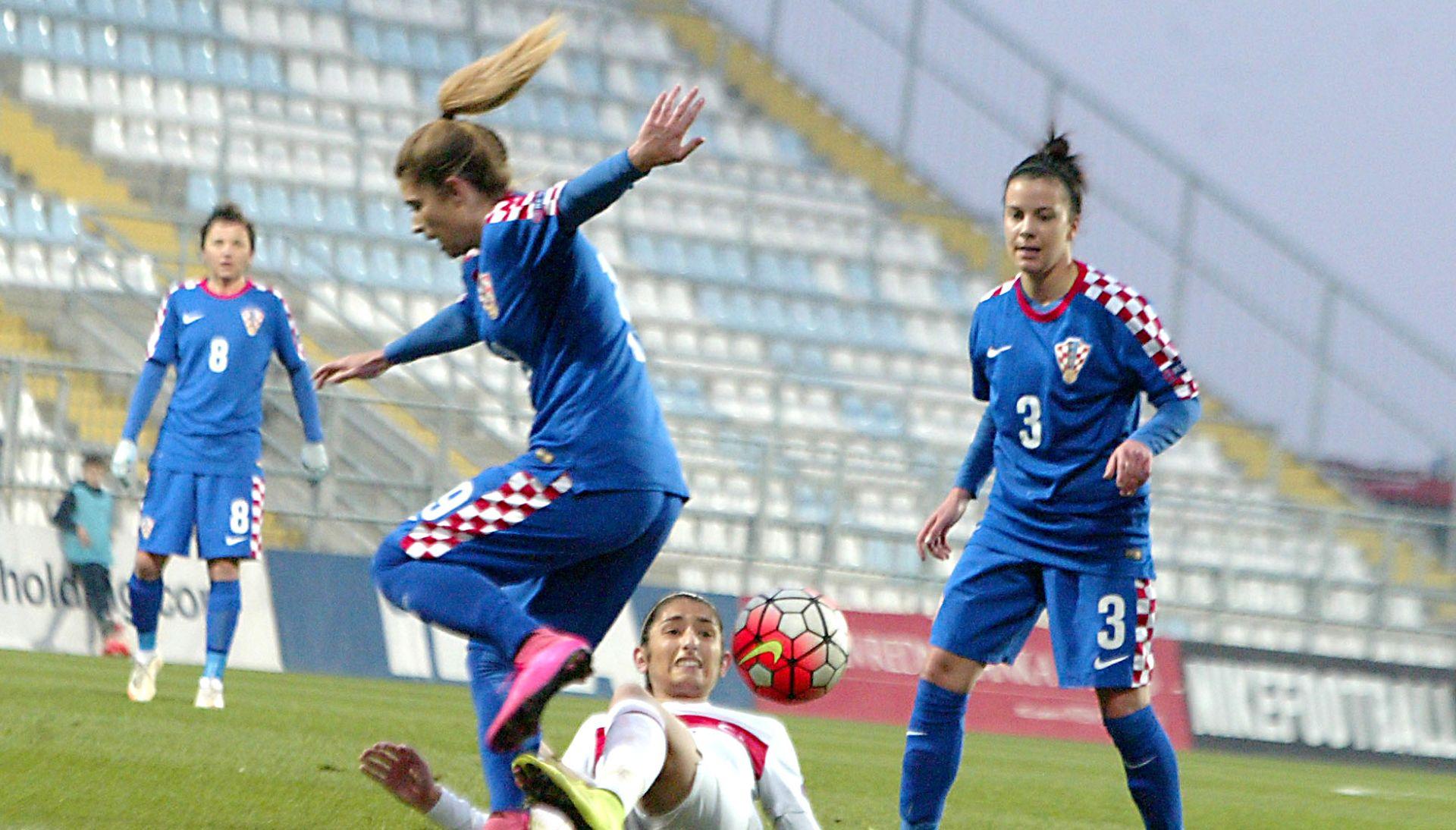EUROPSKO PRVENSTVO (ž): Hrvatska -Turska 3-0