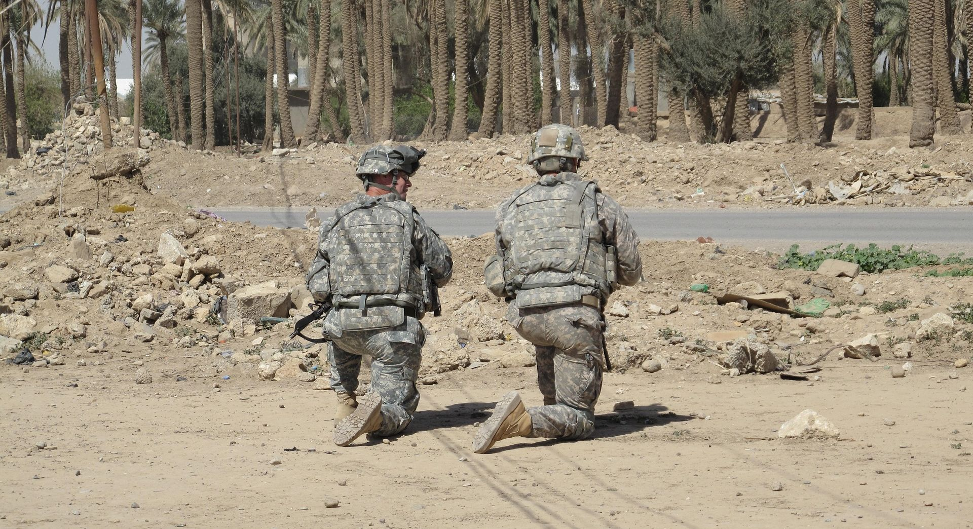 Američki vojni savjetnici na planini Sinjar