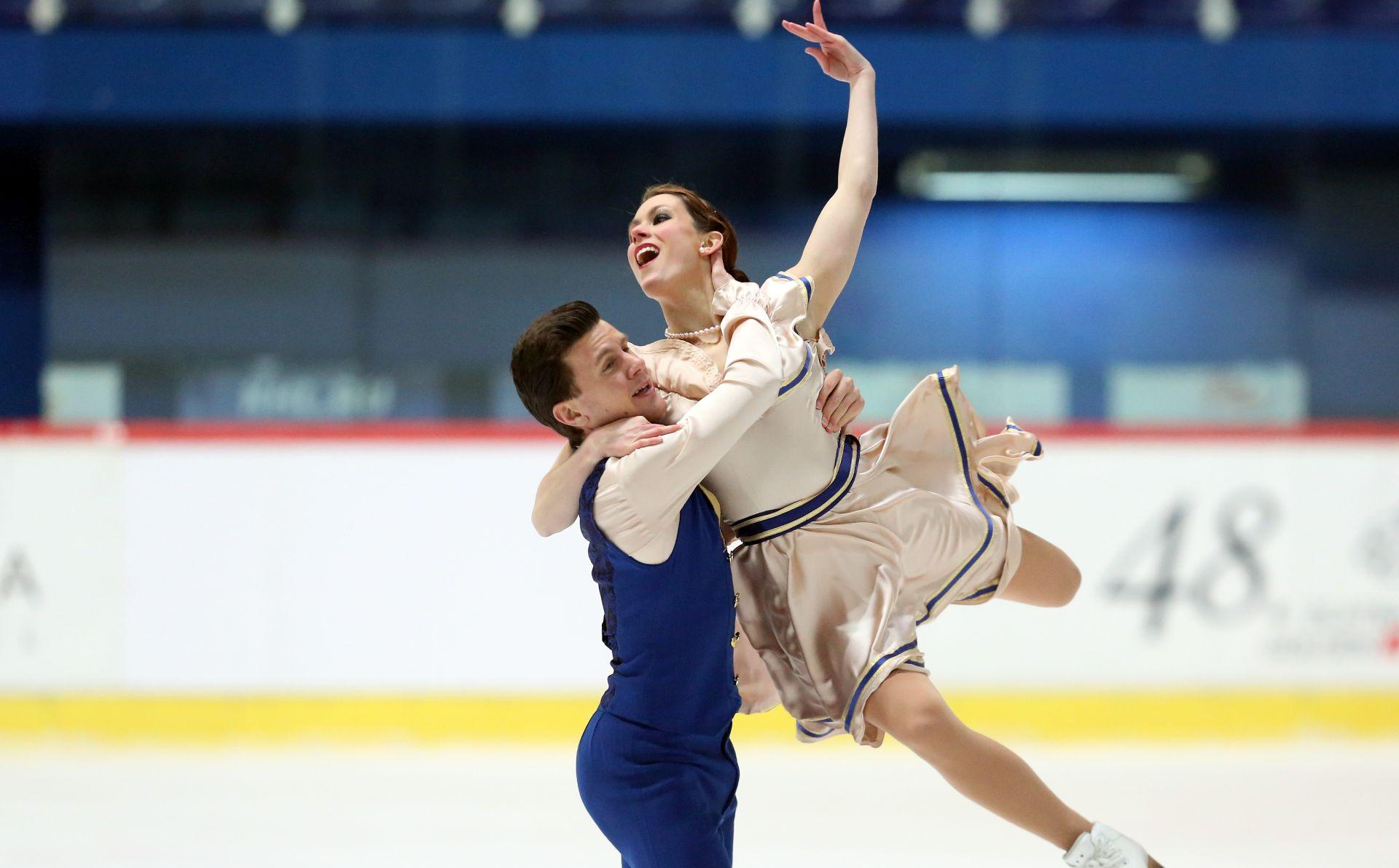 LEDENA DVORANA: Talijanski plesni par osvojio Piruetu