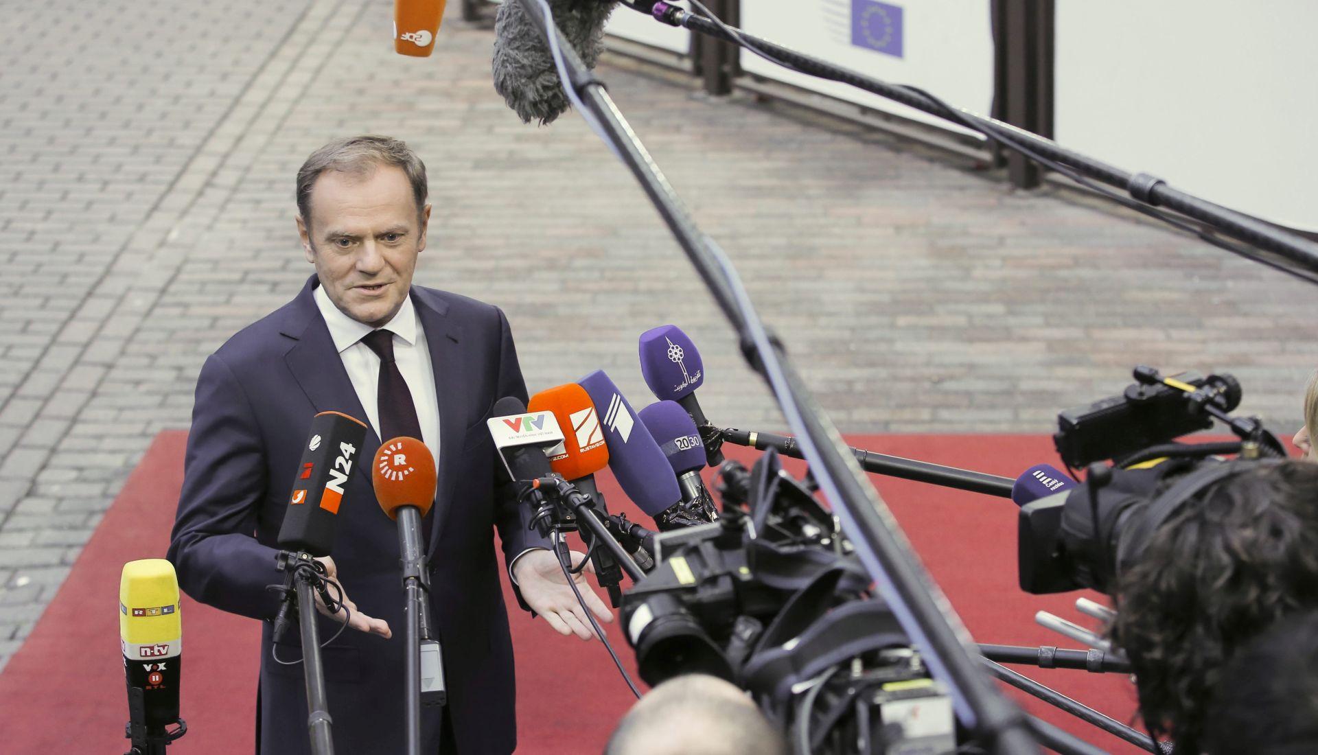 EUROPSKO VIJEĆE Tusk: Zaštita granica u nadležnosti je država članica