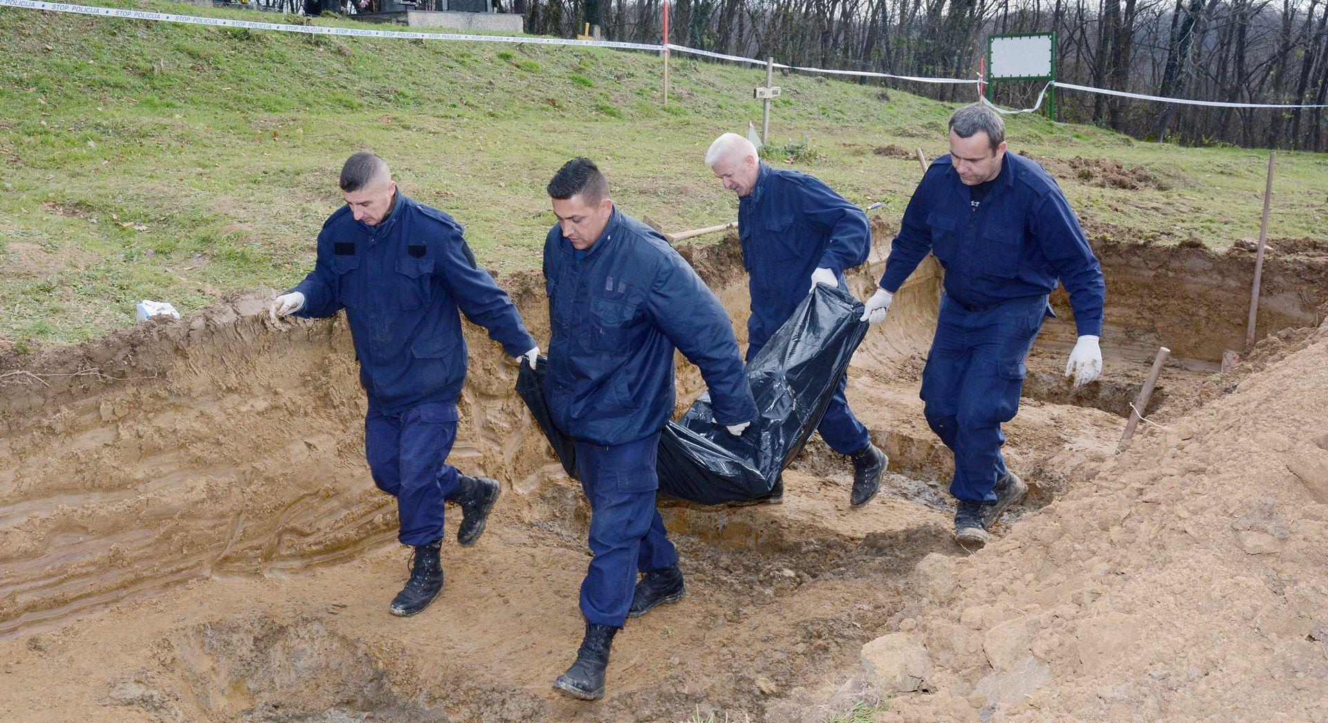 NIJE MASOVNA GROBNICA: Ministarstvo branitelja o ekshumaciji iz grobnice kod Gornjeg Selišta