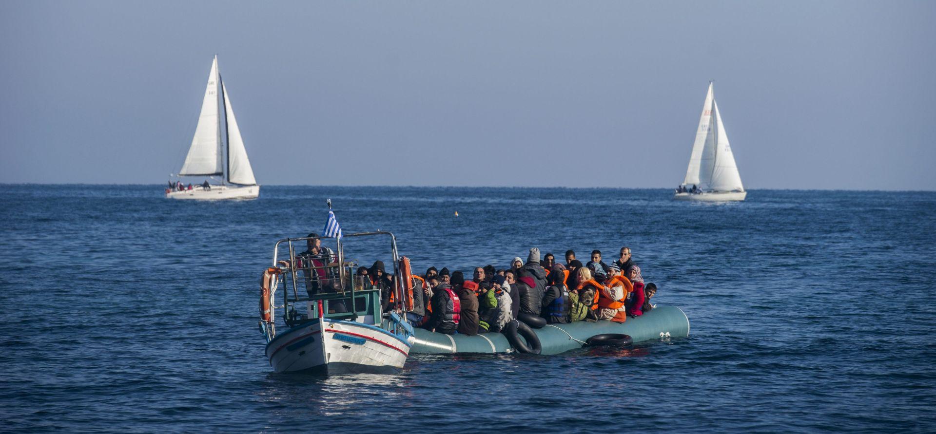 Najmanje 11 migranata poginulo u brodolomu u Egejskom moru