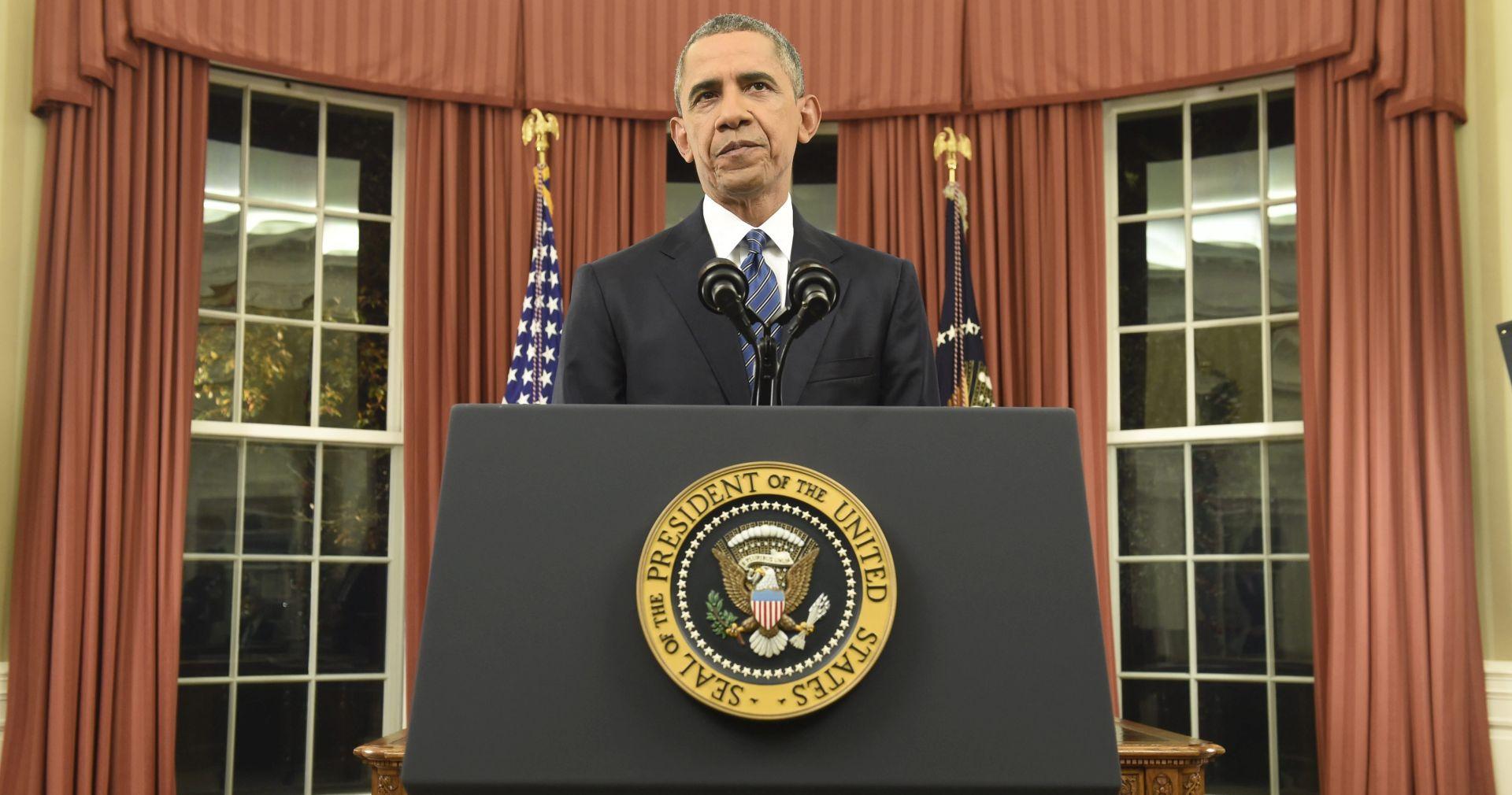 Obama iz Ovalnog ureda: Sjedinjene Države će prevladati novi teror prijetnji