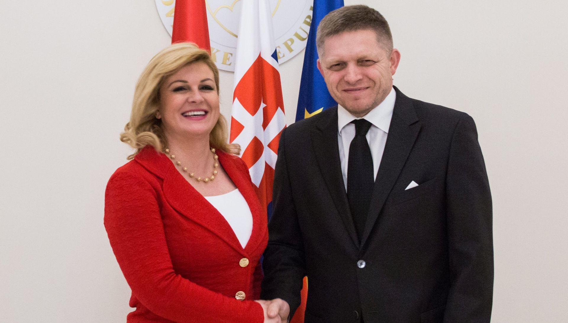 Grabar-Kitarović kaže da treba puno raditi na povezivanju sjevera i juga srednje Europe