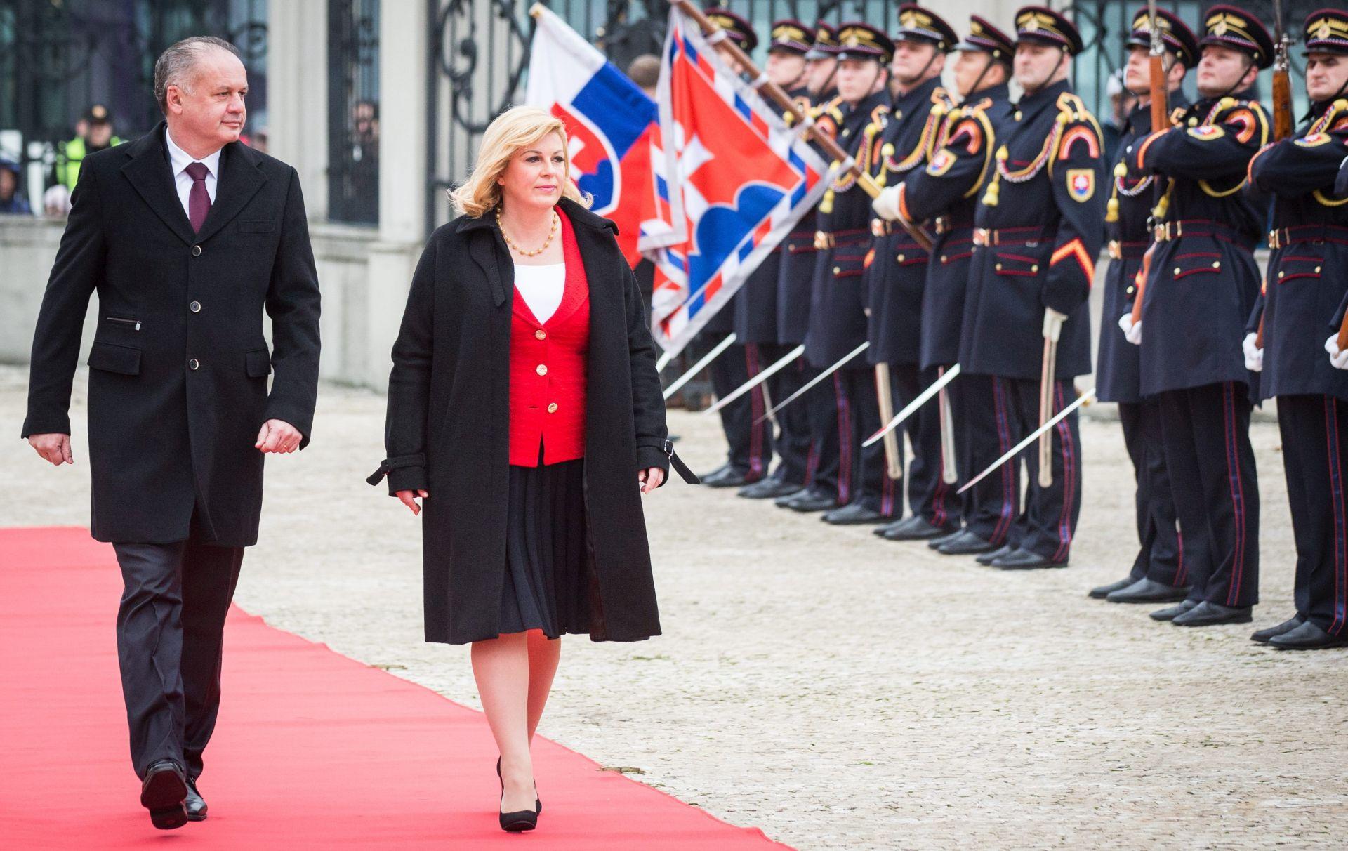 Grabar-Kitarović u Slovačkoj: Povezanost između zemalja najviše čine ljudi