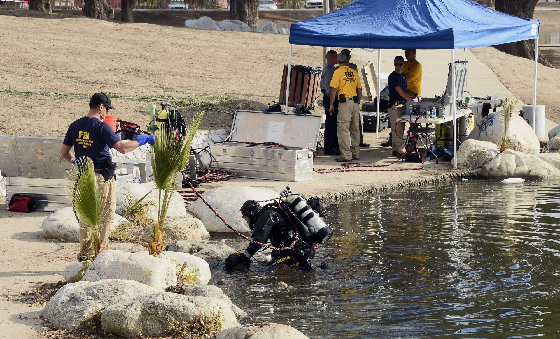 RONIOCI FBI-A U AKCIJI Pretražuje se jezero povezano s napadačima iz San Bernardina