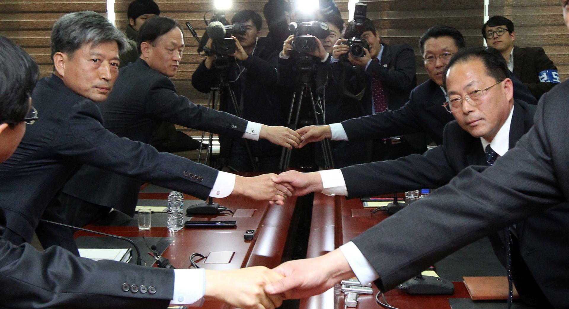 NAKON ŠEST GODINA NAPETOSTI Dvije Koreje održale sastanak na visokoj razini