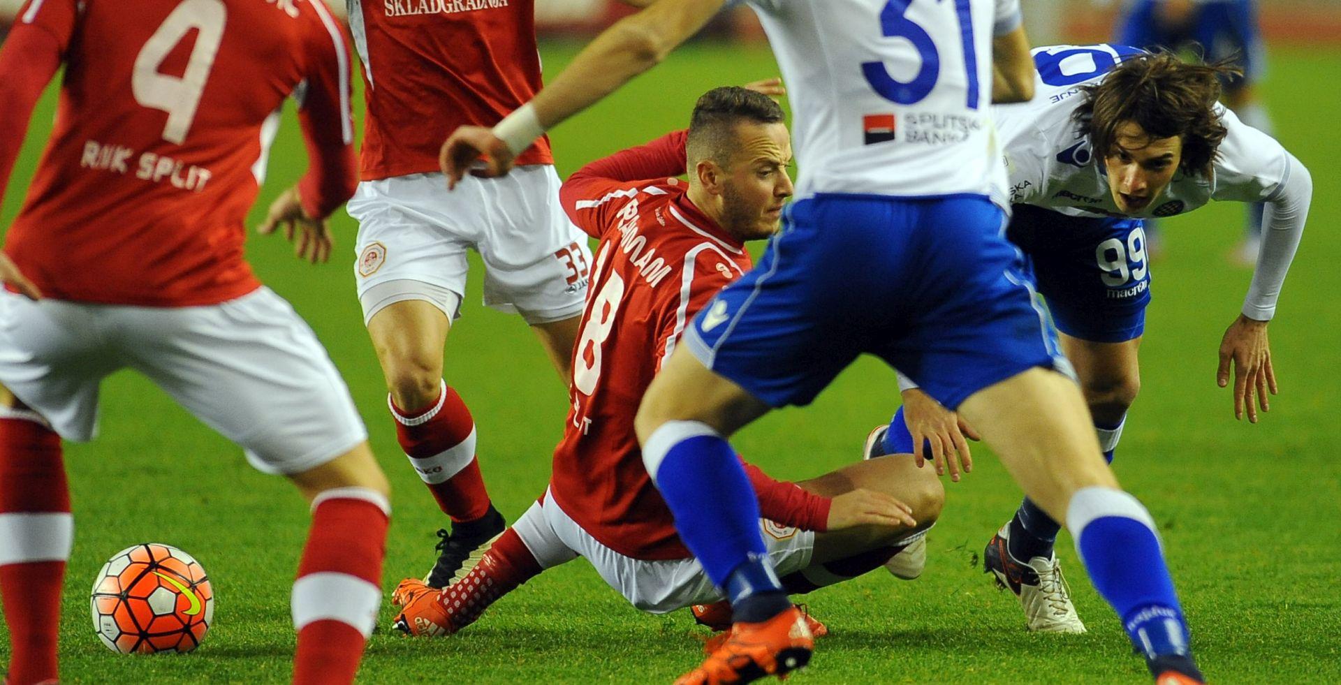 HNL: USPAVANKA NA POLJUDU Hajduk i Split odigrali bez golova