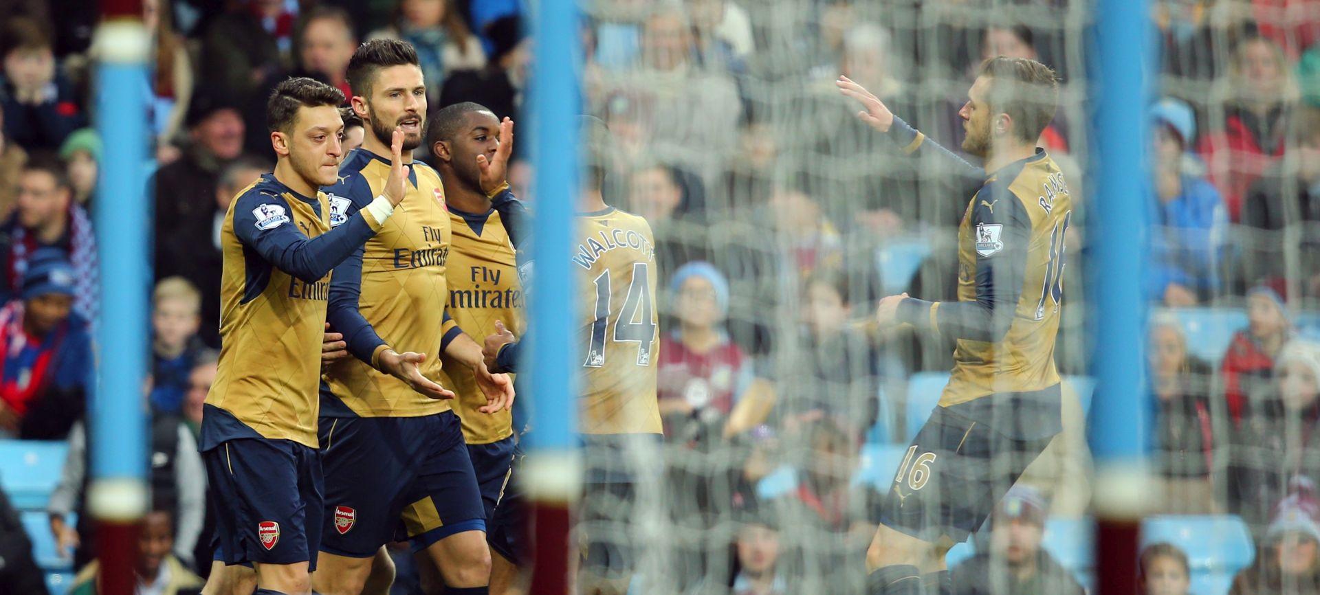 PREMIERSHIP Arsenal slavio protiv Ville, Giroud i Ramsey strijelci za vrh ljestvice