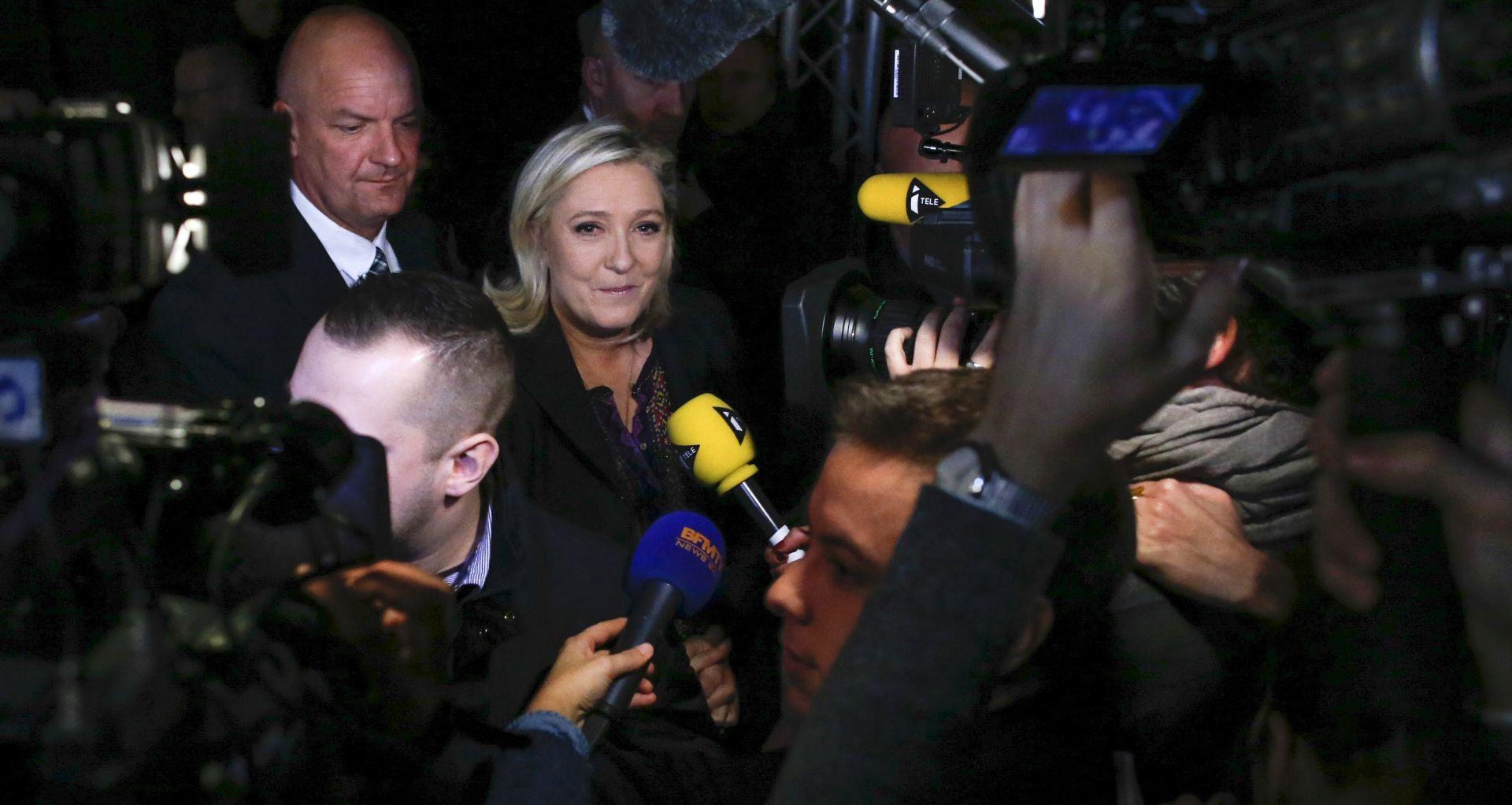 """BEZ POBJEDE U SVIM REGIJAMA Nacionalna fronta treća, Marine Le Pen: """"Ništa nas sada ne može zaustaviti"""""""
